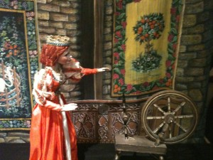 Cinderella Marionette on display in the festival's exhibit