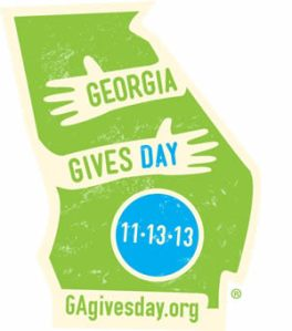 Georgia Gives Day is an unprecedented opportunity for people across the state to come together and support the nonprofits of Georgia. Please give to us on November 13!